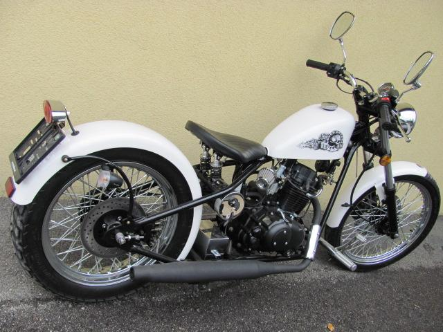 CHOPPER 125ccm White Gambler